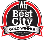 Westender best of the city gold 2012, best dentist vancouver