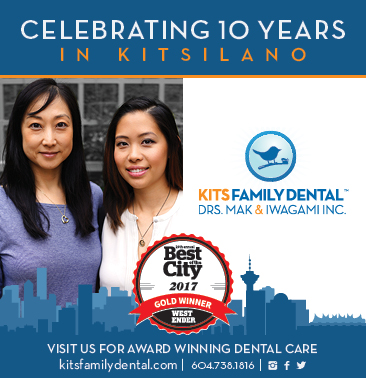 best dentist in Vancouver, Westender best dentist in Vancouver 2017